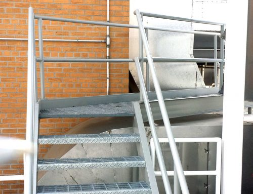 Rooftop Ladder and Platform