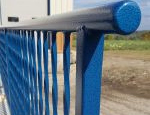 Large Industrial Powder Coated Railing