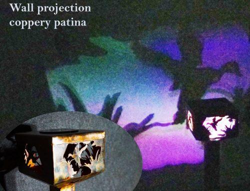 Flying Mallards Solar Powered Shadow Lamp